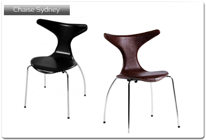 chaise pour cuisine mod le sydney plan de travail. Black Bedroom Furniture Sets. Home Design Ideas