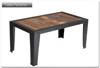 table pour cuisine mod le panama plan de travail. Black Bedroom Furniture Sets. Home Design Ideas