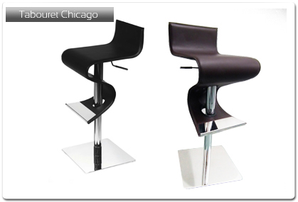 tabouret de bar mod le chicago plan de travail. Black Bedroom Furniture Sets. Home Design Ideas