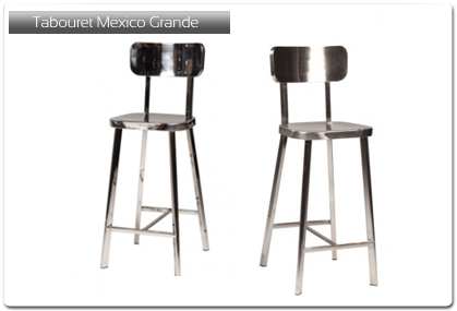 tabouret de bar mod le mexico grande plan de travail. Black Bedroom Furniture Sets. Home Design Ideas