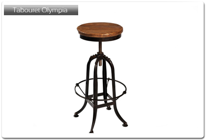 tabouret de bar mod le olympia plan de travail. Black Bedroom Furniture Sets. Home Design Ideas