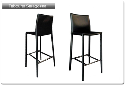 tabouret de bar mod le saragosse plan de travail. Black Bedroom Furniture Sets. Home Design Ideas